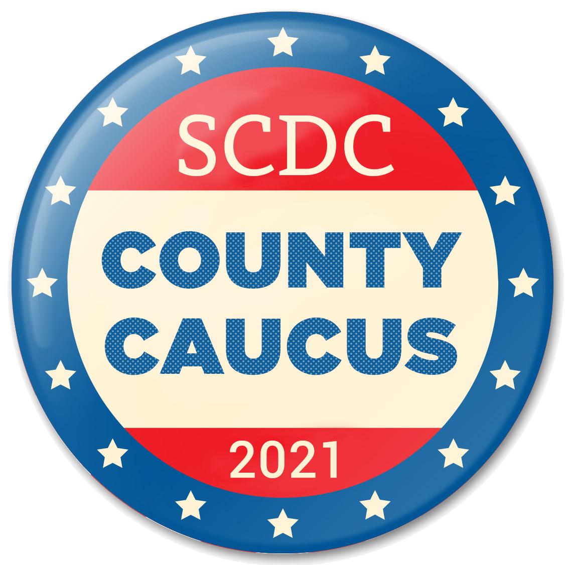 SCDC Caucus Button